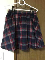 910☆チェック柄スカート