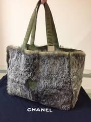 1円 ◆正規品◆ 良好 ◆ シャネル ラパン ラビットファー バッグ