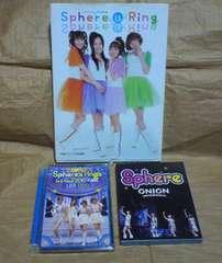 sphere スフィアDVD,Blu-ray、写真集