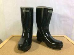 ワケアリ 新品♪24.5cm SANKO RUBBER BOOTS 長靴