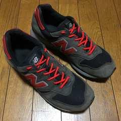 ニューバランス M1300BB 海外限定カラー 灰×黒×赤 27.5 良品