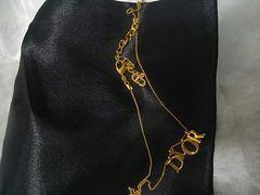 正規Diorのゴールドネックレス新同!(正規品)
