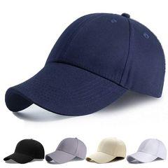 キャップ 帽子 男女 無地 野球帽 ネイビー