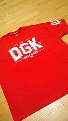 LA直輸入!DGK 赤 REDサイズ4XLXXXXL skate border