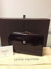 1円 ◆正規品◆ 超美品 ◆ ルイヴィトン ヴェルニ アマラント 財布