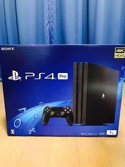 PlayStation4 Pro JetBlack 1TB 新品 プレイステーション4プロ