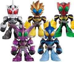 THE仮面ライダーズPAPT6全5種類