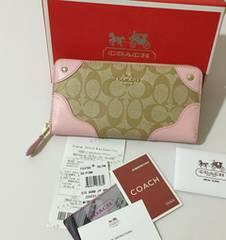 新品 COACH F53780 長財布 コーチレディース財布 ウトレット