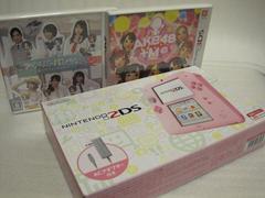 新品2DS ピンク本体+新品ソフト2本セット