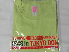 「AKB48 in TOKYO DOME 〜1830mの夢〜」Tシャツ チームK・L