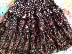 (*>ω<*)花柄スカート*Lサイズ*