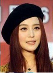 超値引き390円★大人気ベレー帽★ハットファション帽★黒