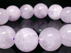 ラベンダーミルキーアメジスト12ミリ§数珠