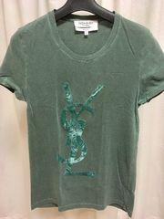 YVES SAINT LAURENT☆ロゴTシャツ☆Sサイズ☆イブサンローラン
