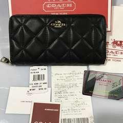 COACH F53637コーチ長財布 レディースサイフアウトレット品