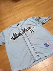 DELFベースボールシャツ3XL ブルー系 新品未使用