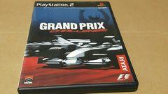 PS2☆グランプリチャレンジ☆状態良い♪F-1レースゲーム。