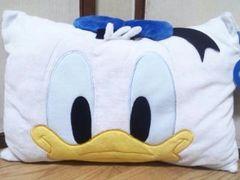 Disney/ドナルドダックマイクロフェイス枕(35�p×50�p)