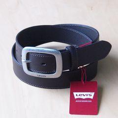 LEVI'S リーバイス 牛革 ベルト 35mm 6491 チョコブラウン