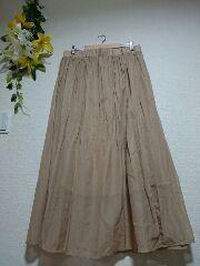 ★新品タグ10L★マキシ丈スカート