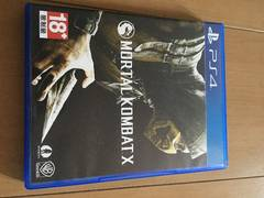 PS4 mortal kombat x モータルコンバット 海外版 日本未発売