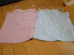 ★キャミソールシャツ2枚セット★