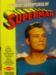 初代を超える二代目スーパーマン・テレビ版(モノクロ+カラー)