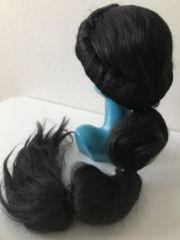 ジャスミン/ウィッグ/アラジン/コスプレ/黒髪