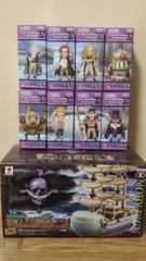 ワンピース ワールドコレクタブルフィギュア 白ひげ海賊団セット!