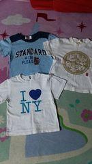 男の子☆まとめ売り半袖Tシャツ3点セット☆95