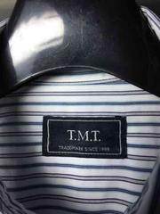 TMTティーエムティー/ストライプシャツ/M