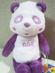 AAA え〜パンダくったりぬいぐるみ紫(宇野実彩子)