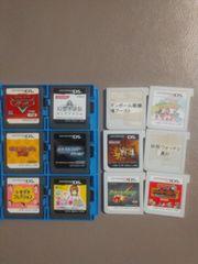 送料無料 ニンテンドー3ds DS  ソフト12本セット