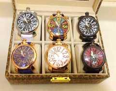 新品メンズ腕時計6本セット♪ケース付き★インテリアにも