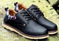 メンズ 民族風靴 ブーツ ネイビー 適切サイズ42/26〜26.5cm