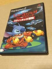 希少?PS2☆Disny スティッチの大冒険☆