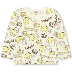 新品BABYDOLL☆120 ポムポムプリン 総柄 ロンT Tシャツ ベビードール