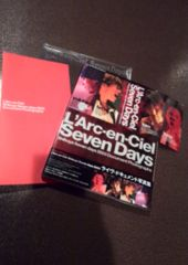 L'Arc〜en〜Ciel/Seven Days/2003ドキュメント写真集/HYDE ステッカー付