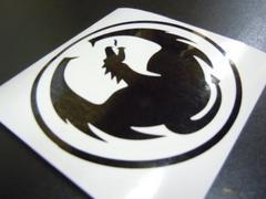 DRAGON ドラゴン ステッカー 20cm