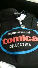トミカ トミカTシャツ 限定品  Lサイズ16TM1RM02 ブラック 未使用  新品 タグ付