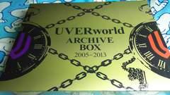 UVERworld◆ARCHIVE BOX 2005-2013◆写真集2冊+ポスタ-、2枚欠◆