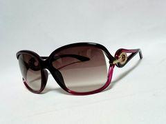 正規 hyde着 同型 Diorディオール オーバル装飾×フェザーテンプルサングラス ピンク