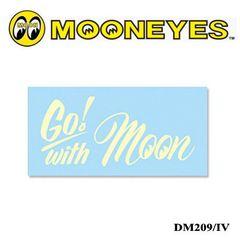 【送料無料】ムーンアイズ 転写ステッカー Go! with Moon/IV
