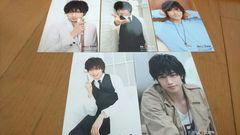 SexyZone中島健人の写真5枚セット