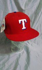 ニューエラ NEW ERA Texas Rangers未使用品73/8テキサス レンジャース