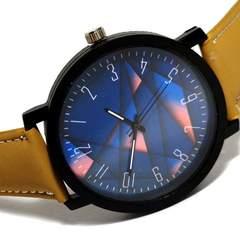 新品・未使用 JBRL【トライアングル】ユニセックス 大型 腕時計