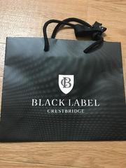 新品★ブラックレーベル紙袋/ショップバック