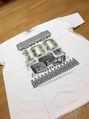 LA直輸入100デザインプリントTシャツサイズ4XL→5XL白