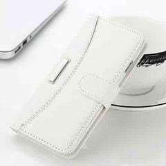 新品 iPhone7 plus iPhone8 plus用 手帳型ケース ホワイト�A