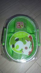 お茶犬ランチボックス緑